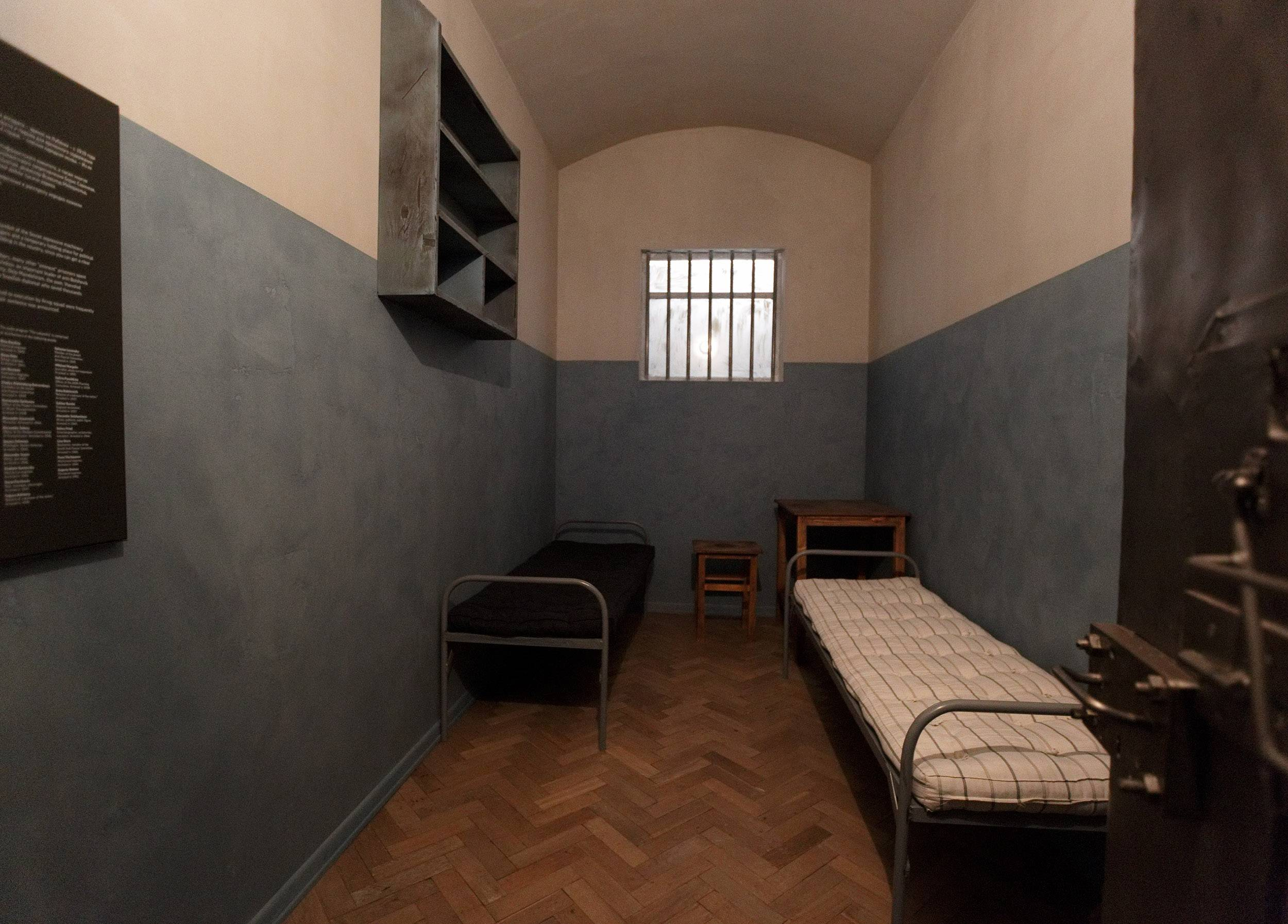 Lorem Ipsum designed and constructed a replica of a KGB prison cell within the exhibit.